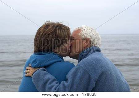 Couple Kissing