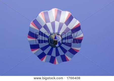 Hot Air Balloon View From Below