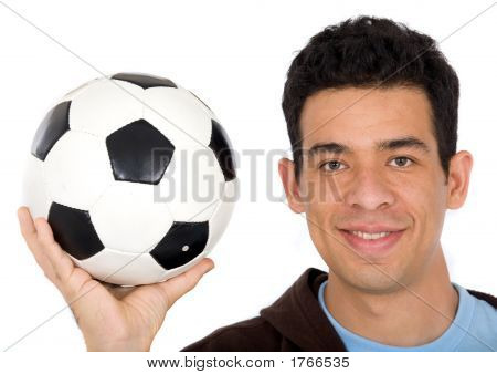 Friendly Soccer Player