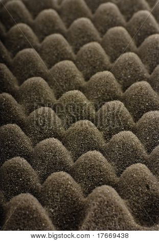 acoustic foam closeup
