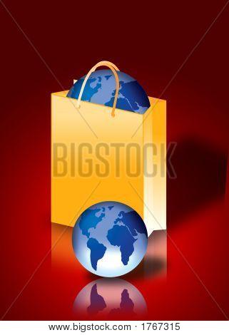 World Inside A Shopping Bag
