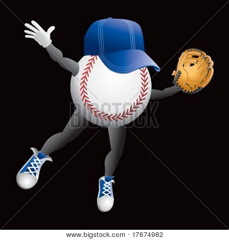 baseball diver