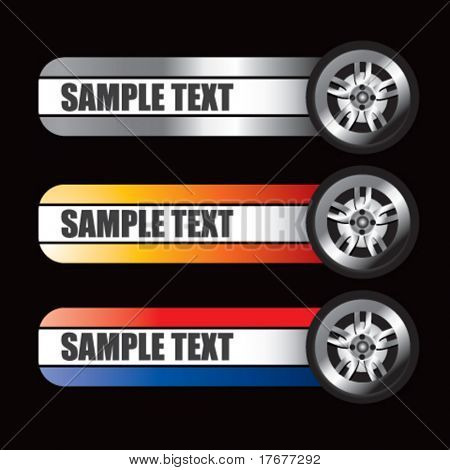 specialized banners for tires