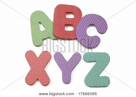 Abc Xyz Foam Alphabet