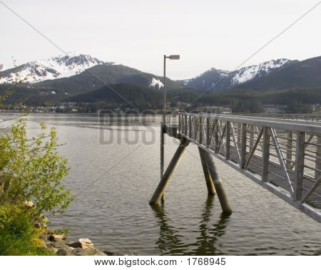 Peer In Skagway Alaska