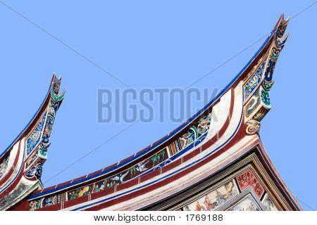 Cheng Hoon Teng Temple Roof, Melaka