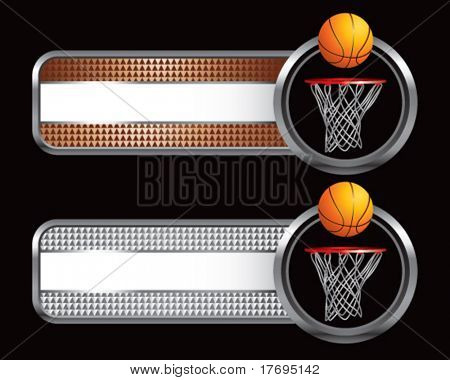 basketball and hoop on specialized tabs