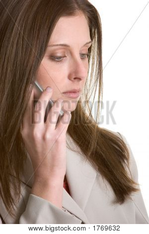 Phone Businesswoman