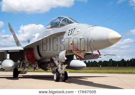 F/A-18 Hornet jetfighter