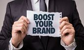 Boost Your Brand poster