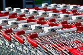 picture of bartering  - shopping carts closeup - JPG