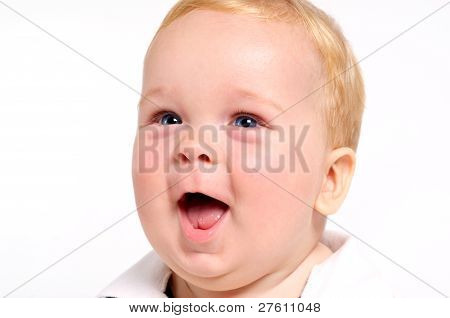 Excited Baby Face