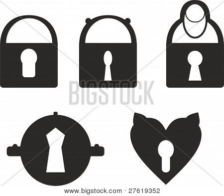Set of locks
