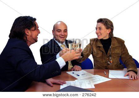 Meeting Success Drink