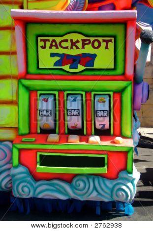 Jackpot Carnival Float