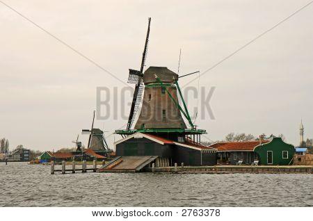 The Famous Dutch Wooden Shoes