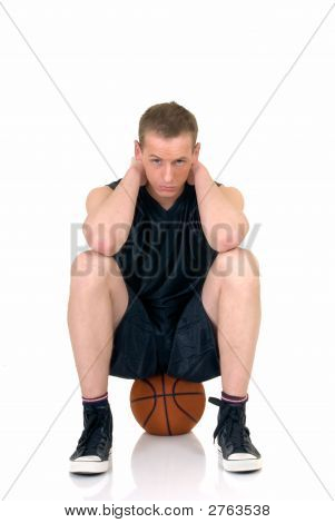 Young Male Basketball Player