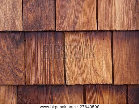 Cedar Shingle Detail