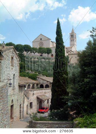 Basilica At Assisi