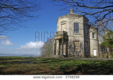 Temple Of The Winds Overlooking Strangford Lough