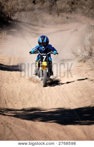 Young Motorcross Rider