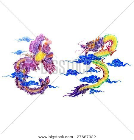 Dragon And Swan