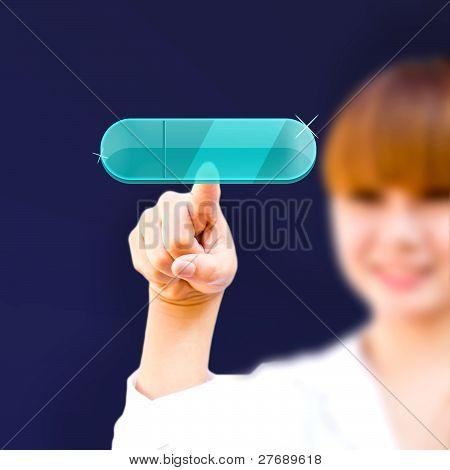 A Touchscreen Modern Button
