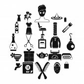 Recreation Icons Set. Simple Set Of 25 Recreation Icons For Web Isolated On White Background poster