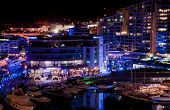 stock photo of gibraltar  - The famous marina in Gibraltar  - JPG