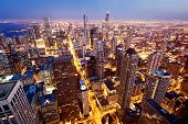 stock photo of illinois  - City of Chicago - JPG