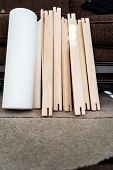 Roll Of Canvas With Stretcher Frames For Print And Framing Photographs Ont Canvas Large Format Print poster