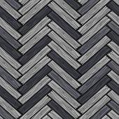 Wood Herringbone Floor Tiles Pattern. Seamless Texture Grey Wooden Parquet Board. Vector Illustratio poster