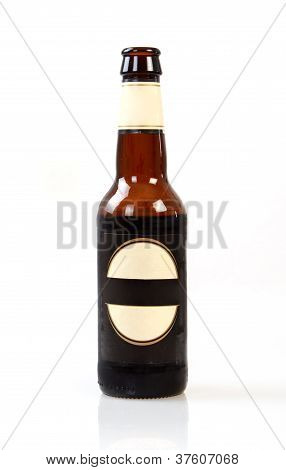 Dark Bottle Of Beer