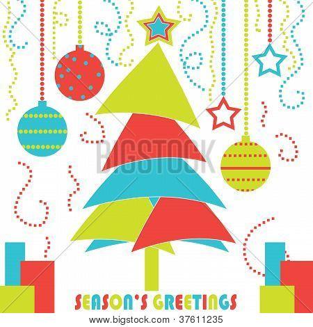 Modern Christmas Tree Design