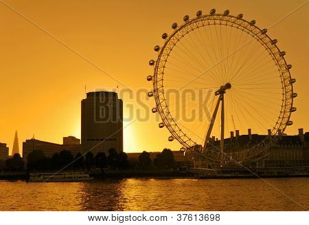 The London Eye Skyline