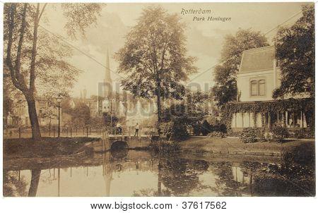 Honingen Park Postcard