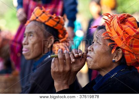 Pa-o Tribe People, Myanmar