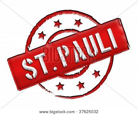 Stamp - St. Pauli