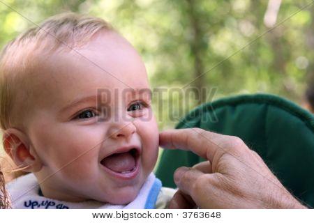 Tickling Baby