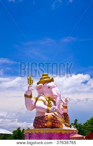 Big Pink Ganesha