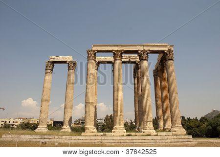 Zeus Temple, Monument Of Ancient Architecture.