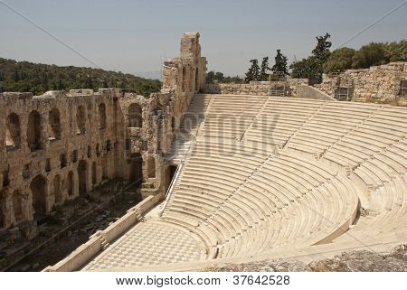 The Odeum Theater Athens