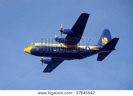 Blue Angels Support C-130 Hercules