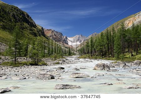 karagem valley and obyl-ojug altay mountains russia