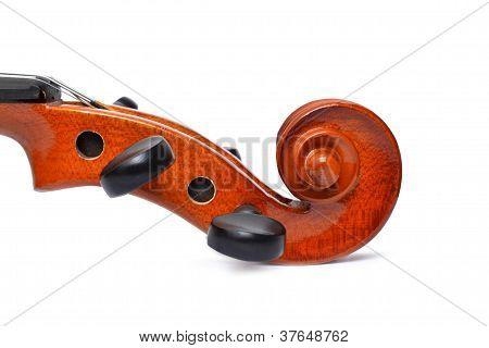 Scroll Violin