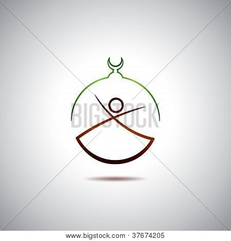 Turkish dervish logo