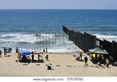 Tijuana Border Fence