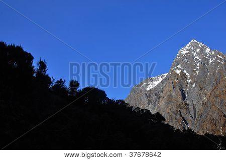 Rugged Alpine Scenery