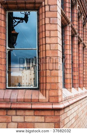 Old house window