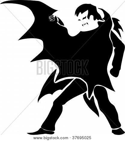 Vampire (dark Silhouette)